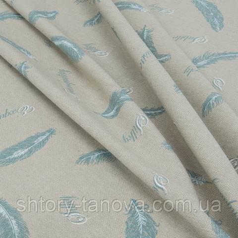 Декоративная ткань для штор, перо
