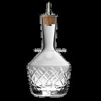 Бутылочка для биттеров 200 мл, 15 x 7.5 x 7.5 см, с алмазным узором