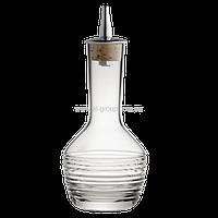 Бутылочка для биттеров 90 мл,  7 x 7 x 13 см, с горизонтальным узором