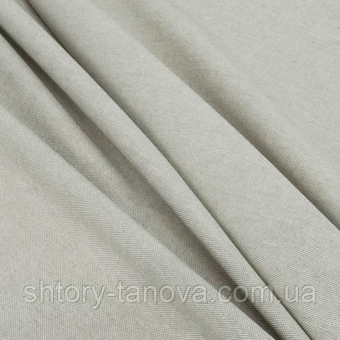 Декоративная ткань для штор, однотонный, бежевый