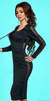 Платье женское с сеткой  вш840, фото 1