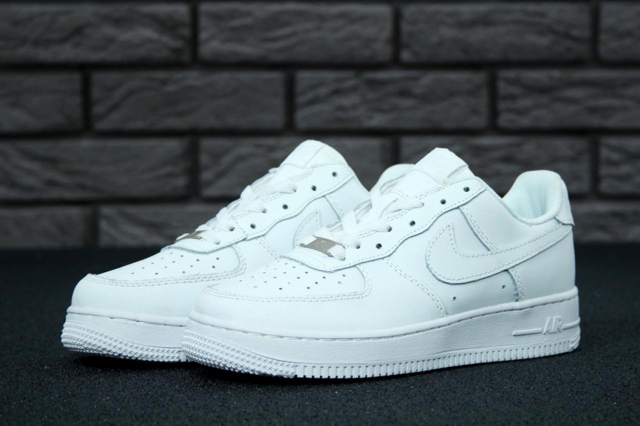da5f61ac Женские кроссовки Nike Air Force 1 Low White топ реплика - Интернет-магазин  обуви и