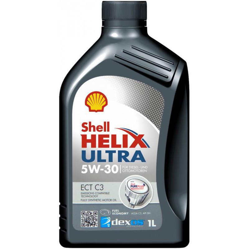 Моторное масло Shell Helix Ultra SAE 5W-30 SL/CF 1л