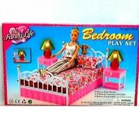 """Детская Мебель для кукол """"Спальня"""" 99001 ТМ Gloria"""