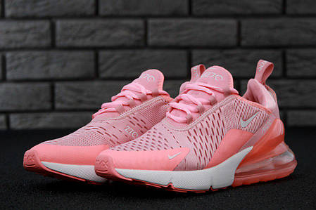 Кроссовки женские Nike Air Max 270 Pink топ реплика, фото 2