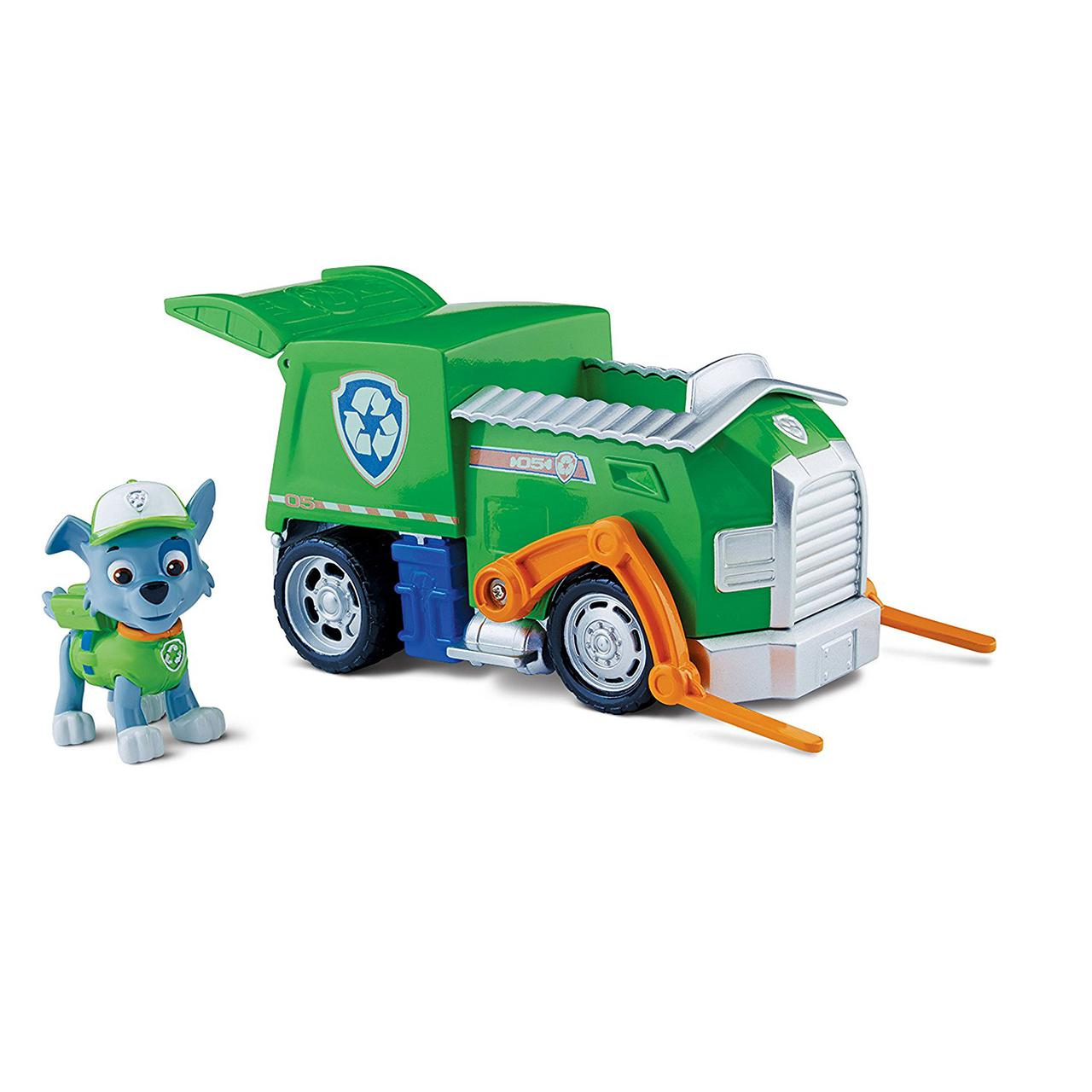 Щенячий патруль Рокки и мусоровоз Paw Patrol Rocky's Recycling Truck