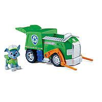 Щенячий патруль Рокки и мусоровоз Paw Patrol Rocky's Recycling Truck, фото 1