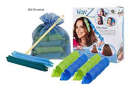 Спиральные бигуди для укладки волос Hair Wavz, Хейр Вейвз, размер 35 см и 55 см.
