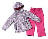 Демисезонный костюм для девочек Nano 266 M S18 Gray Mix. Размер 74-132., фото 2