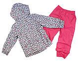 Демисезонный костюм для девочек Nano 266 M S18 Gray Mix. Размер 74-132., фото 3