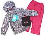 Демисезонный костюм для девочек Nano 266 M S18 Gray Mix. Размер 74-132., фото 4
