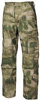 Штаны, брюки в покрое ACU, расцветка A-Tacs FG, Rip-Stop (от компании МFH), военная форма, реплика.