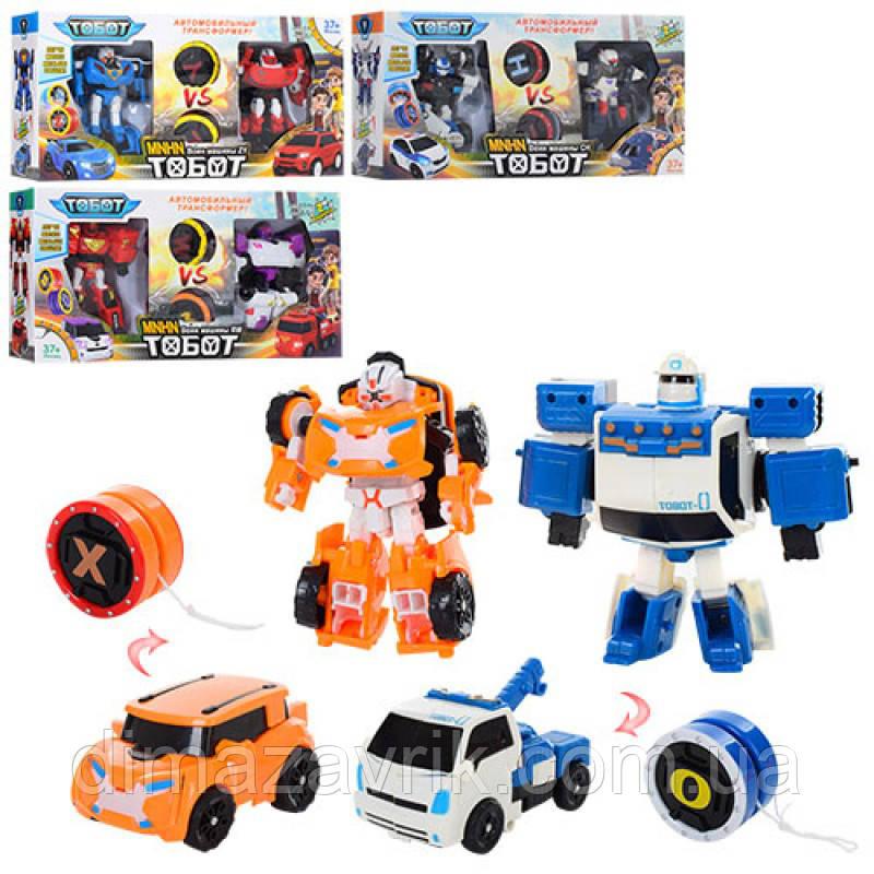 Детская игрушка Трансформеры Тоботы 2в1 Йо-йо