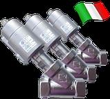 Клапан c пневмоприводом нержавеющий 21IA5T20GC1-5 (ODE, Italy), G3/4, фото 2