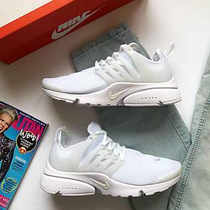 Кроссовки женские Nike Air Presto White топ реплика, фото 2