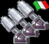 Клапан c пневмоприводом нержавеющий 21IA5T20GC1-5 (ODE, Italy), G3/4, фото 3