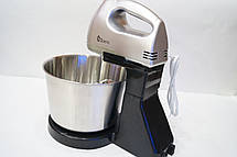 Ручной миксер с чашей Domotec MS-1133 СКЛАД ПЛАСТМАССОВАЯ ЧАША, фото 2