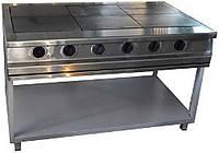 Плита 6-ти конфорочная электрическая без духовки