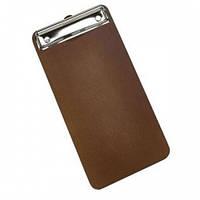 Меню-холдер коричневый 13x24.5x0.6 см