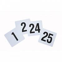 Табличка с номером 1-25, 9,5x10 см, Genware