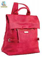 Сумка-рюкзак, красная