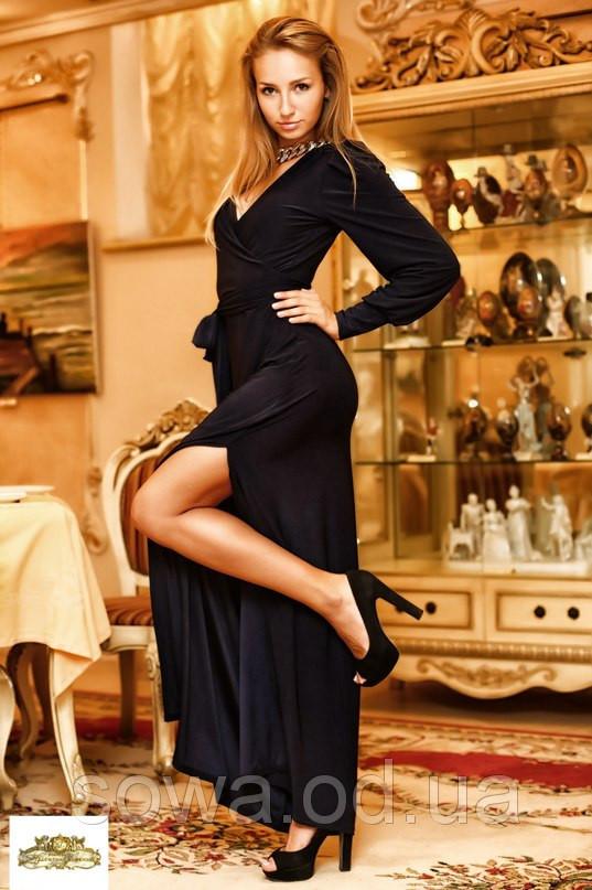 Длинное Платье Аманда  макси в пол фото