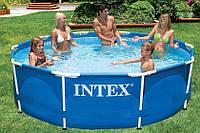 Круглый? каркасный бассейн Metal Frame Pool Intex 28700 (Интекс 28200), фото 1