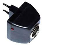 Адаптер переходник с 220V в прикуриватель 12V, фото 1