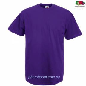 """Футболка унисекс """"Valueweight T"""" для термотрансферной и прямой печати, фиолетовая Размер L"""