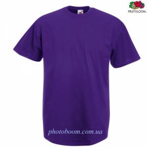 """Футболка унисекс """"Valueweight T"""" для термотрансферной и прямой печати, фиолетовая Размер XL"""