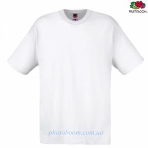 """Футболка унисекс """"Original T"""" для термотрансферной и прямой печати, белая Размер S"""
