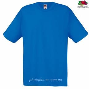 """Футболка унисекс """"Original T"""" для термотрансферной и прямой печати, цвет королевский синий Размер XL"""