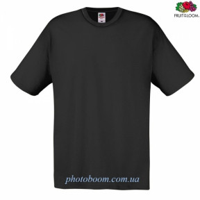 """Футболка унисекс """"Original T"""" для термотрансферной и прямой печати, черная  Размер S"""