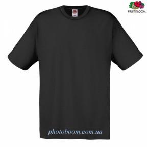 """Футболка унисекс """"Original T"""" для термотрансферной и прямой печати, черная  Размер M"""