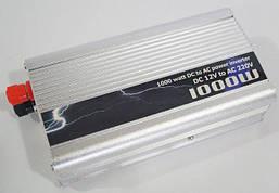 Автомобильный инвертор, преобразователь напряжения  TBE 12/220 1000w