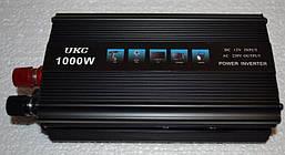 Автомобильный инвертор, преобразователь напряжения UKC 12/220 1000w