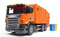Мусоровоз Scania R-series, 1:16, Bruder