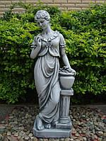 Парковая фигура Дама у колоны