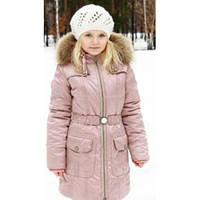 Зимнее пальто на флисе, Baby Line р.140