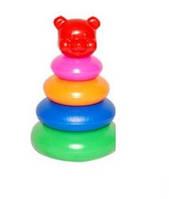 Детская игрушка пирамидка малая №1