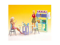 Игрушечная мебель для куклы Барби gloria 21011 Столовая