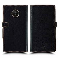 Чехол книжка Stenk Wallet для Motorola Moto E4 Plus (XT1771) Чёрный (59507)