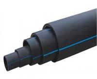 Труба водопроводная SDR 17,6 PE-80 d75