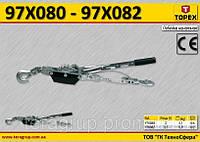Таль канатная 3.5т, Lmax-2.5м,  TOPEX  97X082, фото 1