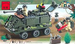 Конструктор Brick 814 Бронетранспортер 167 деталей
