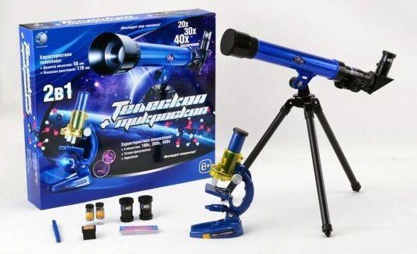 Дитячий набір телескоп і мікроскоп CQ 031