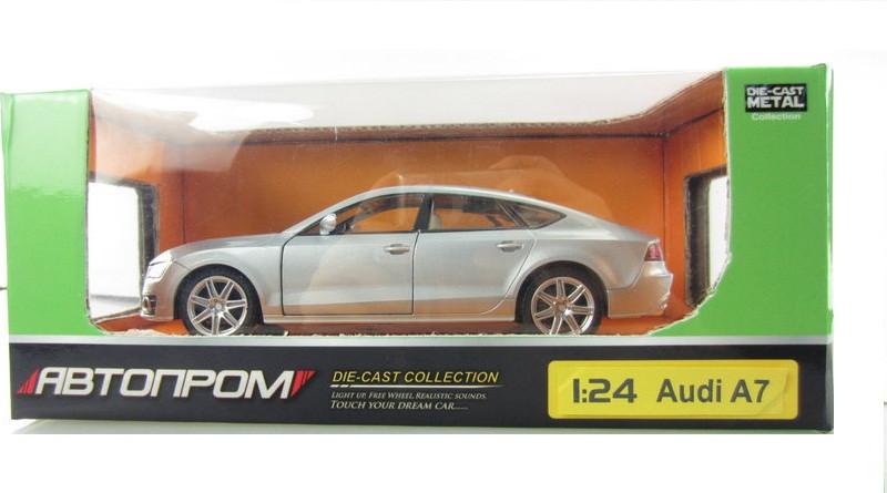 Машинка 68248A  Audi A7  со свето-звуковыми эффектами