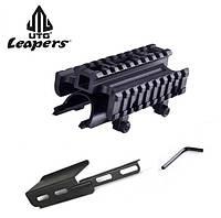 Крышка ствольной коробки для СКС с 3 планкам Weaver/Picatinny и гильзоотражателем UTG Leapers MNT-T640TR (США)