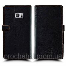 Чехол книжка Stenk Wallet для HTC 10 Чёрный