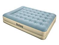 Надувная кровать Bestway 69003 Essence Fortech 203х152х33см, встроенный электронасос, фото 1